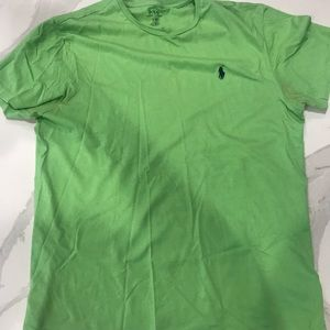 Ralph Lauren Polo Green Shirt Crewneck size M